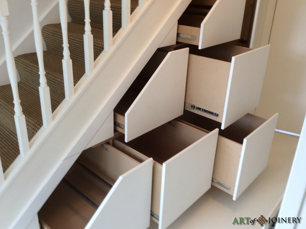 Art Of Joinery Understairs Storage Gallery