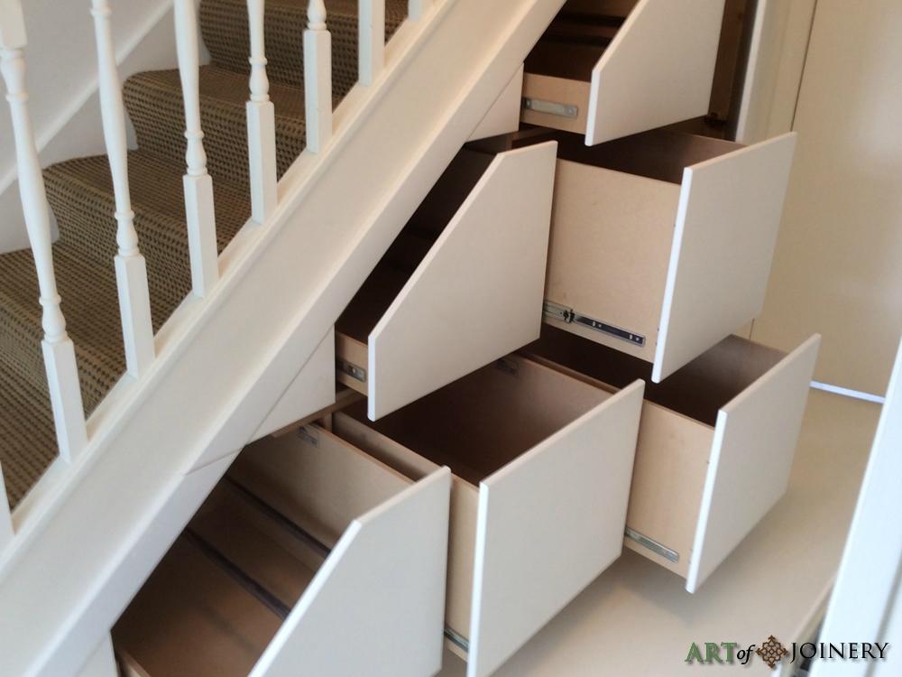 Art of Joinery - Understairs Storage Gallery